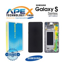 Samsung SM-G977 Galaxy S10 5G LCD Display / Screen + Touch - Majestic Black