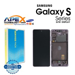 Samsung SM-G781 Galaxy S20 FE 5G Display module LCD / Screen + Touch - Cloud Lavender - GH82-24214C OR  GH82-24215C