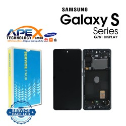 Samsung SM-G781 Galaxy S20 FE 5G Display module LCD / Screen + Touch - Cloud Navy - GH82-24214A OR GH82-24215A