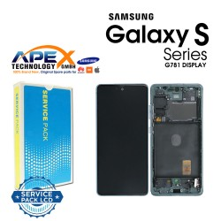 Samsung SM-G781 Galaxy S20 FE 5G Display module LCD / Screen + Touch - Cloud Mint - GH82-24214D OR GH82-24215D