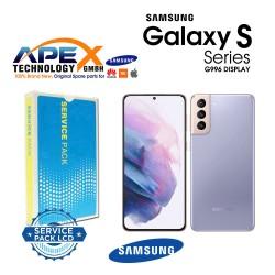 Samsung SM-G996 Galaxy S21+ 5G LCD Display / Screen + Touch Phantom Violet GH82-24553B
