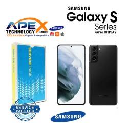 Samsung SM-G996 Galaxy S21+ 5G LCD Display / Screen + Touch Phantom Black GH82-24553A