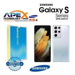 Samsung SM-G996 Galaxy S21+ 5G LCD Display / Screen + Touch Phantom Silver GH82-24553C