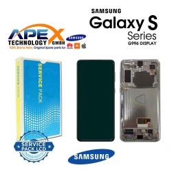 Samsung SM-G996 Galaxy S21+ 5G Display module LCD / Screen + Touch Phantom Silver GH82-24553C OR GH82-24554C