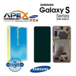 Samsung SM-G996 Galaxy S21+ 5G Display module LCD / Screen + Touch Phantom Violet GH82-24553B OR GH82-24554B