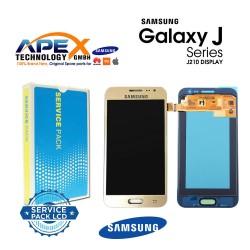 Samsung SM-J210 Galaxy J2 Pro LCD Display / Screen + Touch - Gold - GH97-19123B