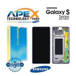 Samsung Galaxy S20 (SM-G980F) Display unit complete cloud blue GH82-22131D