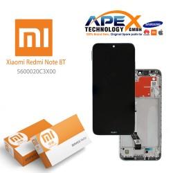 Xiaomi Redmi Note 8T Display unit complete moonlight white 5600020C3X00