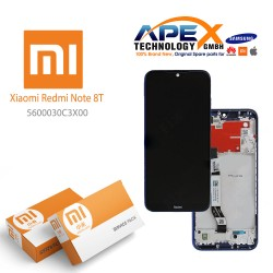 Xiaomi Redmi Note 8T Display unit complete starscape blue 5600030C3X00
