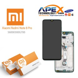 Xiaomi Redmi Note 8 Pro (M1906G7I M1906G7G) Display unit complete green 56000400G700
