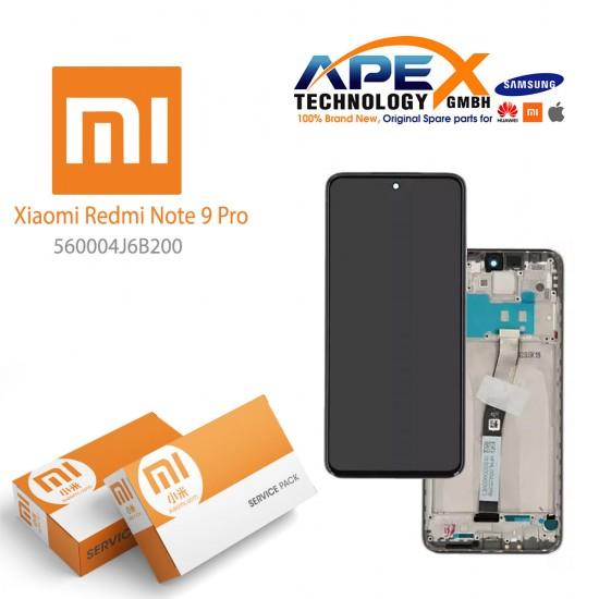 Xiaomi Redmi Note 9 Pro LCD Display / Screen + Touch Green