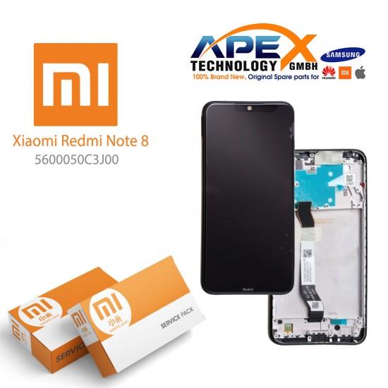 Xiaomi Redmi 8 Display module LCD / Screen + Touch Black (Service Pack) 5600040C3I00