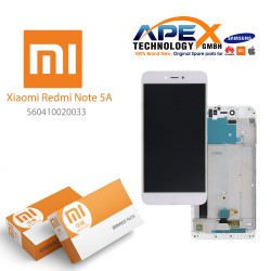 Xiaomi Redmi Note 5A LCD Display / Screen + Touch White