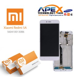 Xiaomi Redmi 5A LCD Display / Screen + Touch White
