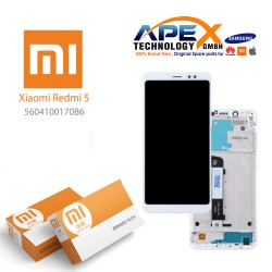 Xiaomi Redmi 5 LCD Display / Screen + Touch White