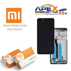 Xiaomi Redmi 6 / 6A LCD Display / Screen + Touch Black