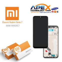 Xiaomi Redmi Note 7 Display unit complete black (Service Pack) 5606100920C7