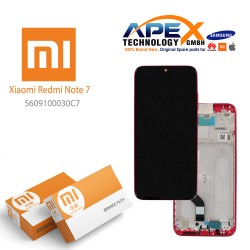 Xiaomi Redmi Note 7 LCD Display / Screen + Touch Red