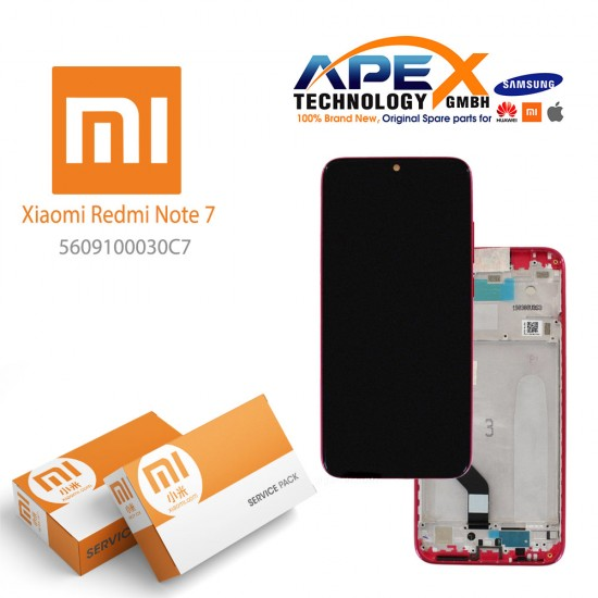 Xiaomi Redmi Note 7 Display module LCD / Screen + Touch Twilight Gold (Service Pack) 5609100030C7