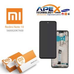 Xiaomi Redmi Note10  Display module LCD / Screen + Touch Black 5600020K7A00