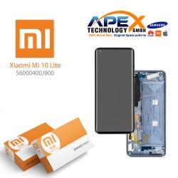 Xiaomi Mi 10 Lite 5G (M2002J9G) Display module LCD / Screen + Touch Cosmic Grey 56000400J900