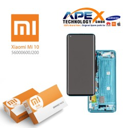 Xiaomi Mi10 Display module LCD / Screen + Touch Green (Service Pack) 560000600J200
