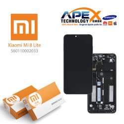 Xiaomi Mi 8 Lite LCD Display / Screen + Touch Gray