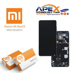 Xiaomi Mi Mix 2S Display unit complete black (Service Pack) 560610028033
