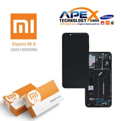 Xiaomi Mi 8 LCD Display / Screen + Touch Black