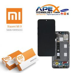 Xiaomi Mi 9 (M1902F1G) Display unit complete piano black (Service Pack) 560610095033
