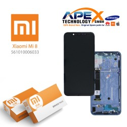 Xiaomi Mi 8 LCD Display / Screen + Touch Blue