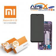 Xiaomi Mi 9 SE (M1903F2G) Display module LCD / Screen + Touch Violet 5612100040B6