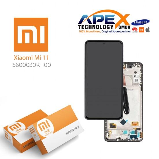 Xiaomi Mi11 / Mi11 Pro / Mi11 X Pro Display module LCD / Screen + Touch White 5600050K1100
