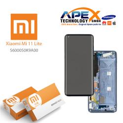 Xiaomi Mi11 Lite Display module LCD / Screen + Touch K9A Pink 5600050K9A00