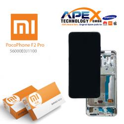 Xiaomi Poco F2 Pro Display module LCD / Screen + Touch White (Service Pack) 56000E0J1100