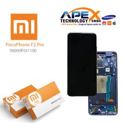 Xiaomi Poco F2 Pro Display module LCD / Screen + Touch Purple (Service Pack) 56000F0J1100