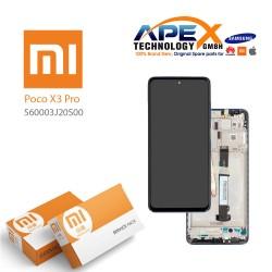 Xiaomi Poco X3 Pro Display module LCD / Screen + Touch Blue 560003J20S00