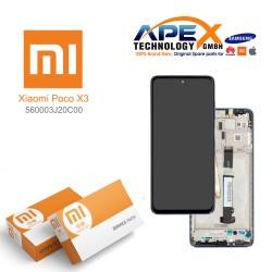 Xiaomi Poco X3 Display module LCD / Screen + Touch Tarnish 560003J20C00
